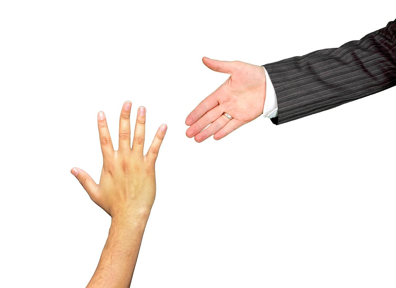 Mentor gir en hånd